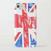 uk iPhone & iPod Cases featuring UK by arnedayan