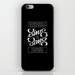 Yin & Yang iPhone Skin