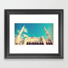The Blue Mosque Framed Art Print