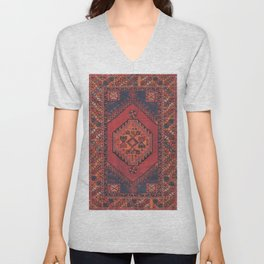 N193 - Berber Oriental Traditional Moroccan Style  Unisex V-Neck