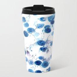 Climbing in Blue Travel Mug