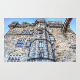 Edinburgh Castle Scotland Rug