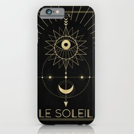 Le Soleil or The Sun iPhone Case