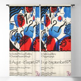 Kandinsky Exhibition poster 1979 Blackout Curtain