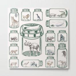 Protect Wildlife - Endangered Species Preservation  Metal Print