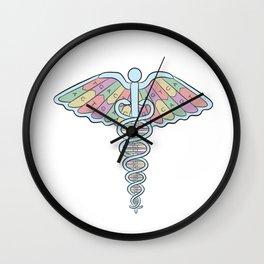 Medical DNA Wall Clock