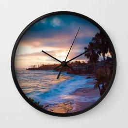 Laguna ii Wall Clock