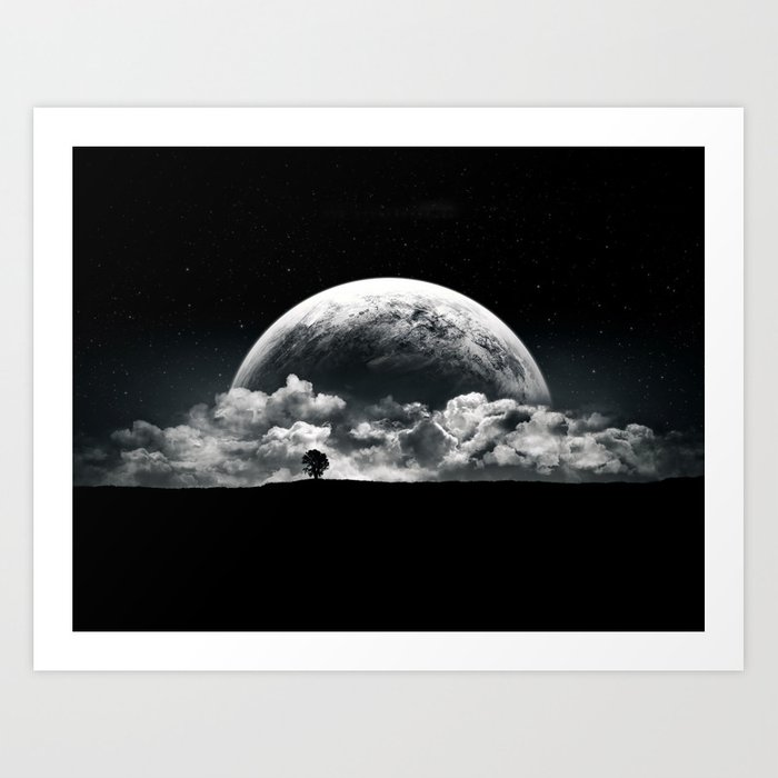 The Rise of a Planet II Art Print