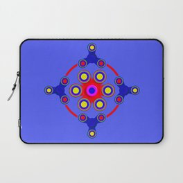 Fidget Spinner Design version 4 Laptop Sleeve