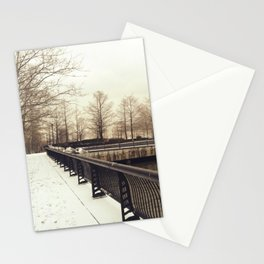 Along the Waterfront - Hoboken, NJ Stationery Cards