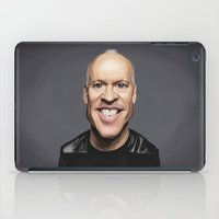 actor iPad Cases featuring Celebrity Sunday ~ Michael Keaton by rob art | illustration