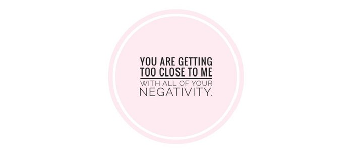 You are getting too close with your negativity Coffee Mug
