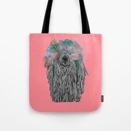 Dredlock Dog (Pastel Red Edition) Tote Bag