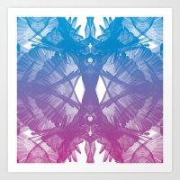 Parrot Flies Art Print