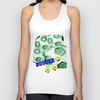 brasil Tank Tops featuring Soccer Brasil by LoRo  Art & Pictures