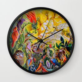 Bird-town Wall Clock