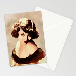 Myrna Loy, Vintage Actress Stationery Cards