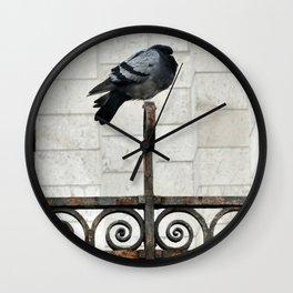 Just Resting Wall Clock