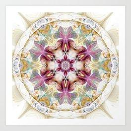 Mandalas from the Heart of Change 7 Art Print