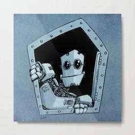 Knock, knock Metal Print