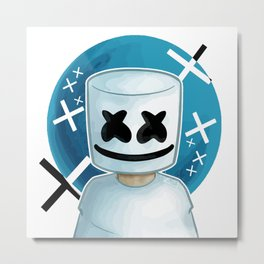 face mello Metal Print