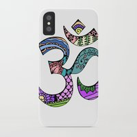 ohm iPhone & iPod Cases featuring Ohm by Ilse S