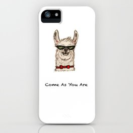 COME AS YOU ARE iPhone Case