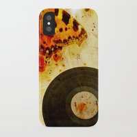 moth iPhone & iPod Cases featuring moth by Markus Breitbach