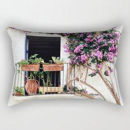 Spanish Balcony Rectangular Pillow