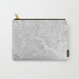 Methow Valley Topography - SeriousFunStudio Carry-All Pouch
