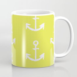 Anchors - Yellow Coffee Mug