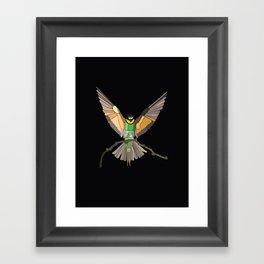 Bird Ripple  Framed Art Print