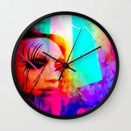 spider drag Wall Clock