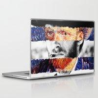 clint eastwood Laptop & iPad Skins featuring Van Eastwood by Luigi Tarini