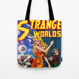 STRANGE TALES - GALAXY GUARDIANS - REDUX Tote Bag