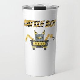 Battle Bot Robot Wars Travel Mug