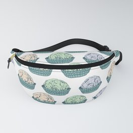 Candy chocolate truffles sketch Fanny Pack