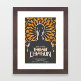 The Last Dragon Framed Art Print