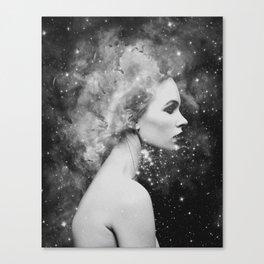 Head in the stars Canvas Print