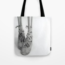 Skeleton Pointe Tote Bag