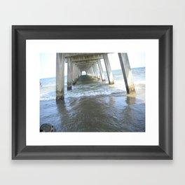 Tidal Waves Framed Art Print
