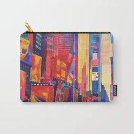 Times Square New York Carry-All Pouch