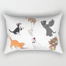 Doctor Who Cats Rectangular Pillow