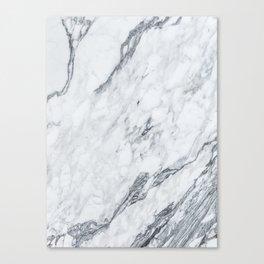 Gray Marble #2 Canvas Print