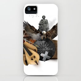 19 // 22 (Totem of the Eagle) iPhone Case