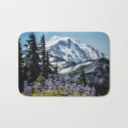 Scenic Art, Mt. Rainier, Mt. Rainier National Park, Spray Park Bath Mat