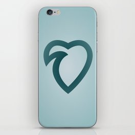 wavelove iPhone Skin