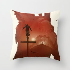 Assasins Creed 3 Throw Pillow