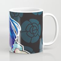 barachan Mugs featuring tough by barachan