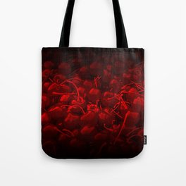 cherries pattern reaclidr Tote Bag